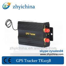 American map gps tracker mini TK103B with remote control