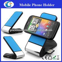 4 Ports card reader phone holder for pc laptop