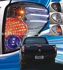 Tail Light Rear Lamp + LED Fit For Mitsubishi L200 Triton Animal Warrior 2006-2008