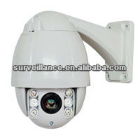 China 10X 650TVL day/night Zoom Camera High speed dome