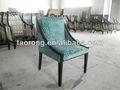 Hotel atraente design de móveis, sólidos de madeira de descanso sofá da cadeira com a alta qualidade cadeira fabirc ch-086