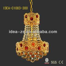 glass hanging tea grace pendant fiber optic chandelier light