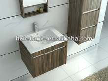 2014 Cheapest hanging MFC bathroom cabinet, bath cabin furniture for attractive free standing small bathroom cabinet