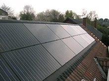 Solar wood Solar Panel