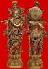 Lord Krishna Brass Statue