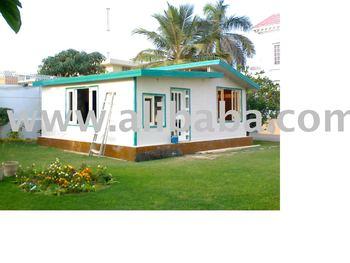 prefabricated modular 2 bed home