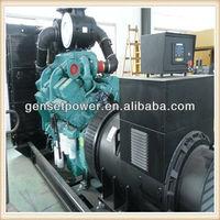 500kw to 800kw Diesel Generator Power Four Stroke KTA38 Manual with Cummins Engine