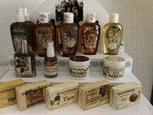 Monoi Cosmetics and marine extract
