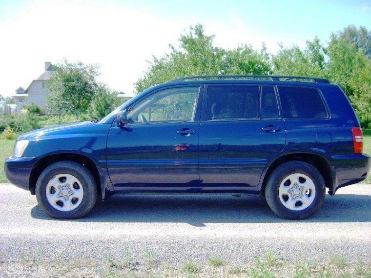 Toyota Highlander 2003. Toyota Highlander, 2003