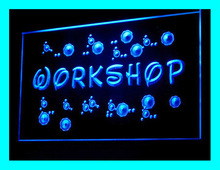 140072B Workshop Art Fabrication Design Room Apartment Executive LED Light Sign