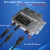 Grid Tied Inverter 260W Micro Solar Inverter, DC22V~50V to AC220V On Grid Inverter with Power Line Carrier-current Communication