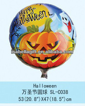Manufactory Supply cheapest foil balloon for happy halloween