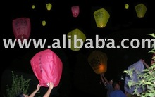 Sky Lantern, Kongming, Skyballons, Fluglaterne, Wunschlaterne