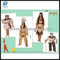 2013 indio auténtico baile de disfraces para halloween vestido de fiesta