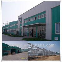 ISO standard portal frame steel structural warehouse