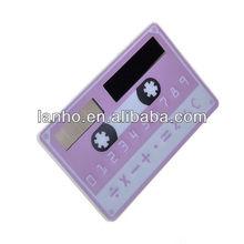 8 Digit Mini Credit Card Solar Power Pocket Calculator