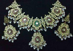 Kundan (Jadtar) Necklace Set