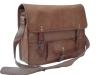 Handmade Leather Messenger Bag Shoulder Laptop Briefcase