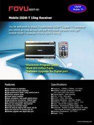 Mobile Isdb-T Receiver (Brand: Fovu)