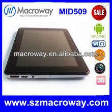 super thin cheap 7 inch Mini HDMI 3G Latest tablet pc