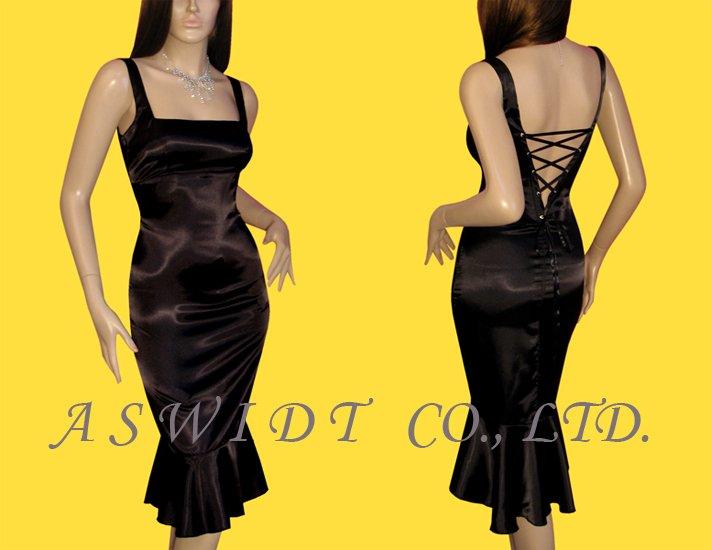 corset dress back. Tail Boned Corset Dress