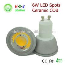 New Product On Electric Market Cob Led GU10 6W Spotlight