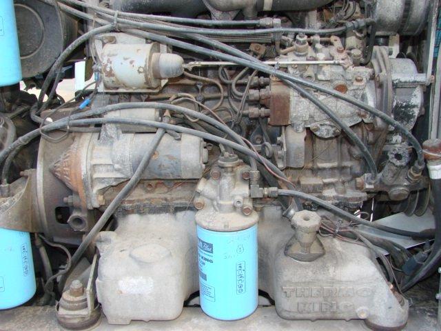 Usado Thermo King transporte refrigeração Isuzu Di 2. 2 motor