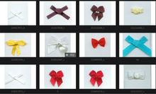 Bra ribbon bow