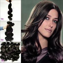 """2013 hot sale body wave peruvian hair extension 12""""-36"""" guangzhou human hair"""