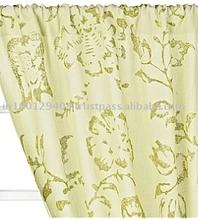 Printed Linen Drapes