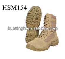 airsoft tactical 8 inch height tan/coyote desert boots for dry mountain condition