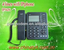 Wireless ready creative WiFi desktop SIP ip phone/cisco ip pbx