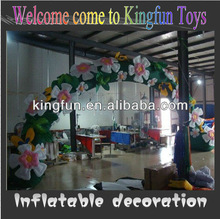 Hot sales stage flower arch decorations for event