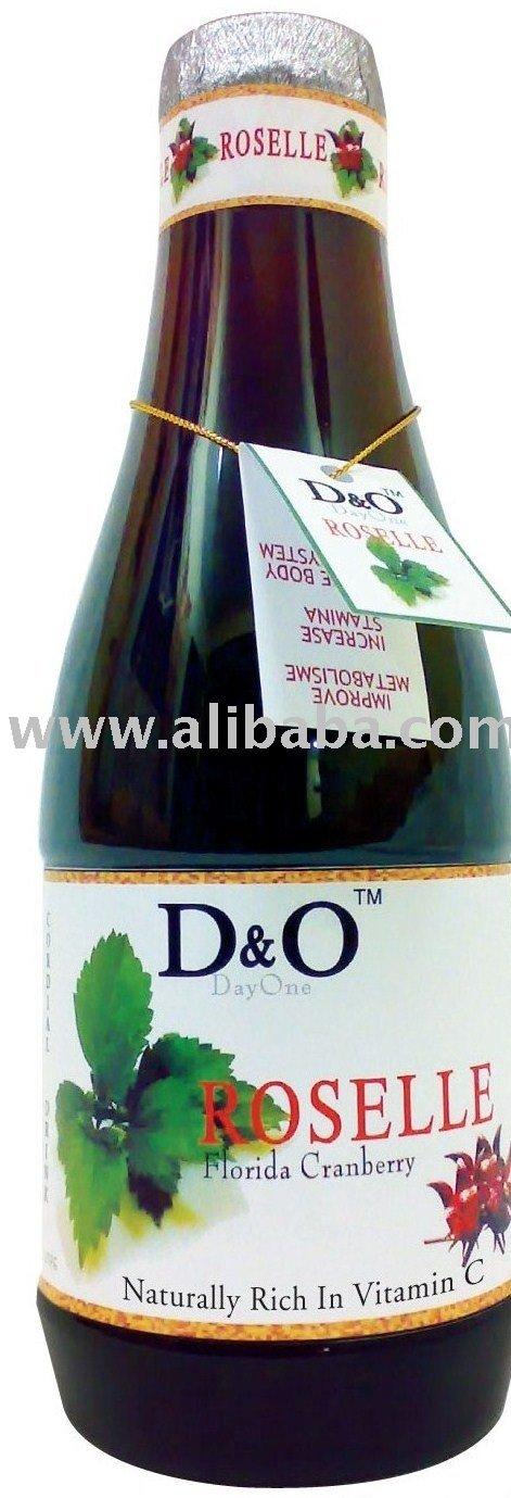 D & O كرانبيري فلوريدا المشروبات كركديه
