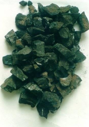 Minerales sólidos