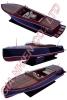 Marina Runabout Ship Model