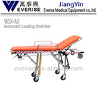 Automatic loading stretcher; first-aid device; medical equipment; ambulance modifacation; emergency; trolley