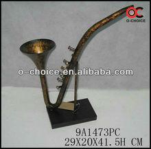 MA-1473 Wholesale Cast Metal&Iron Instrument Art