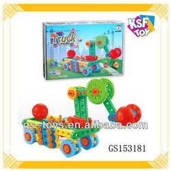 Education Toy 124 PCS Building Blocks Truck