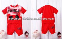 2013 Lastest Design Short Sleeve Short Pants Children Sets