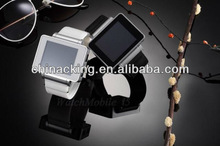 cheap price single SIM touch screen mobile phone watch