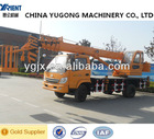 YGQY10H good cost performance advanced technology and assembly line MAX lifting height 26m China YUGONG 10ton mobile crane