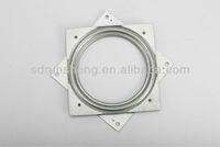 square plate/ bearing base/ metal swivel plate A24