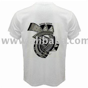 Samoan Tattoo T-Shirt White