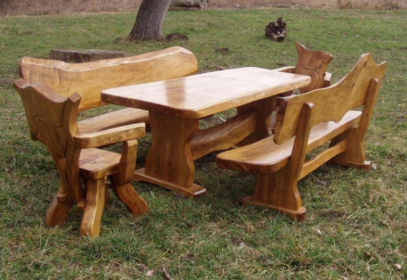 De madera muebles de jard n otros muebles de madera - Muebles de madera de jardin ...