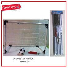 Plastic Folding mini football goal with ball,soccer goal for children