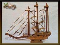 Perahu Phinisi Type B Wooden Craft