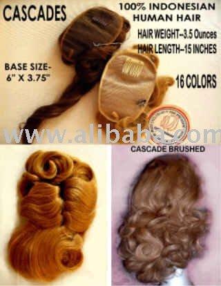 HUMAN HAIR CASCADE