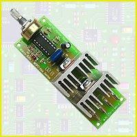 Dc velocidad del Motor controlador Pwm de ancho de pulso modulador