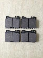 hot sale new material european formula mercedes ben c-class brake pad d154